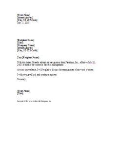 Sample retirement letter https3sixtycyclingstudioformal basic yet professional sample resignation letter template https3sixtycyclingstudioprofessional spiritdancerdesigns Gallery