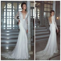 Every BRIDE should have access to the PERFECT dress for the PERFECT day. Sleek, long and perfect. The front is covered in sheer fabric and there is