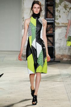 love gerhard richter and love proenza! they have elevated their design sensibility with this collection