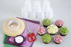 How to Make a Cupcake Bouquet | Queen of Hearts Couture Cakes ...
