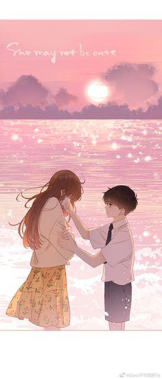 Manga Couple, Anime Love Couple, Anime Couples Drawings, Couple Drawings, Manga Anime Girl, Anime Art, Handsome Anime Guys, Manhwa Manga, Cute Images