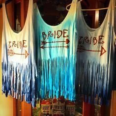 Bride tribe diy shirts #forshipsandgiggles