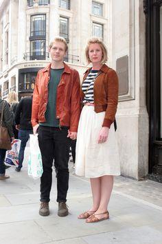 Beatrice Moys #RegentStreetStyle