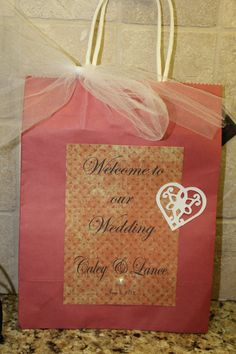 Wedding Guest Welcome Bags by selina51 on Etsy, $3.00
