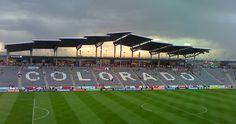 Stadium for the Colorado Rapids football team. Commerce City, Colorado.