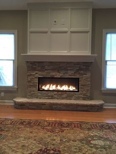 Wonderful Useful Ideas: Open Fireplace Surround creek rock fireplace.Fireplace Insert With Blower brown fireplace living room. Fireplace Tile, Tv Above Fireplace, Reclaimed Wood Fireplace, Linear Fireplace, Living Room With Fireplace, Wood Fireplace Surrounds, Fireplace Surrounds, Fireplace Inserts, Beautiful Living Rooms