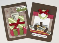 Money Gift - Christmas Card