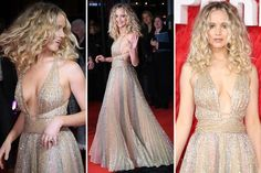 JENNIFER Lawrence was a vision in gold as she graced the red carpet at the premiere for her latest film Red Sparrow. The 27-year-old Oscar winner wore a sparking gold dress which plunged to her mid…