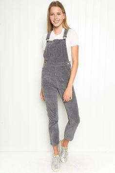 Brandy ♥ Melville | Uma Corduroy Overalls - Clothing