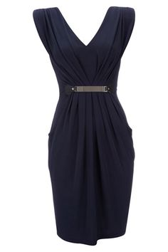 Navy Blue Dress - View All New In  - New In