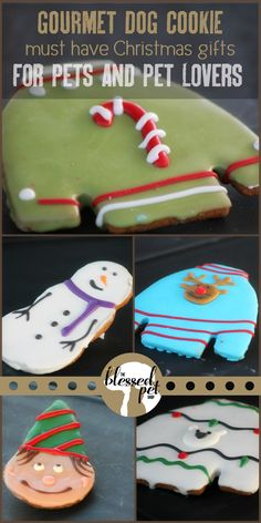 These hand crafted cookies for dogs are an ideal, inexpensive Christmas gift.  The pet lover in your life is sure to love these (and so will their dog)!