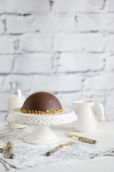 Manzana&Canela: Semifrío de café y chocolate. Receta sin horno.