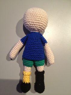 Galna i Garn: Här kommer Pippi Långstrump... Crochet Dolls, Beanie, Black And White, Creative, Blog, Inspiration, Stitches, Amanda, Pictures