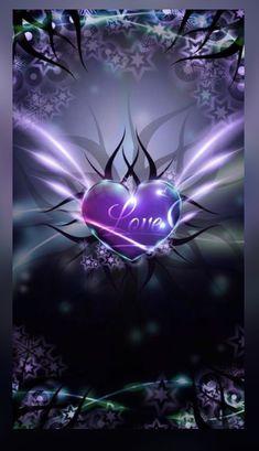 Love Heart wallpaper by mirapav - 33 - Free on ZEDGE™ Butterfly Wallpaper, Heart Wallpaper, Purple Wallpaper, Love Wallpaper, Cellphone Wallpaper, Wallpaper Backgrounds, Free Wallpaper For Phone, Phone Backgrounds, Iphone Wallpapers