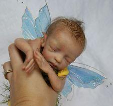 Zodi Mini Fairy Baby Doll Kit unpainted parts to make a reborn baby fairy