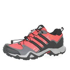 Adidas Terrex Swift R Outdoor Hiking Shoes  Bahia CoralBlackSharp Grey  Womens  8 -- Click on the image for additional details.
