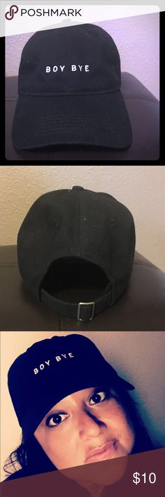 100d4ae7647 Women s Hat-Boy Bye Never worn (other than to model for this picture ).  (Didn t end up needing it for an event).
