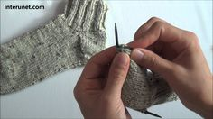 Knitting socks step-by-step instructions Summary: Yarn - RED HEART worsted 4 Needles - US 3 (3.25 mm) and 7 in (17.78 cm) Style - tight knitting Shoe size - ...