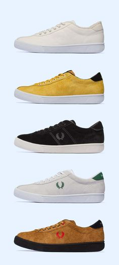 9521b2eb1e5 34 best Fred Perry shoes images in 2018 | Fred perry shoes, Man ...