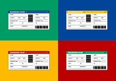 Airline Ticket Template Word Custom Free Graphic  Boarding Pass Invitation  Pinterest