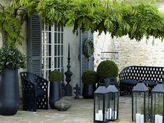Rośliny i ogród, Taras... - szukając pomysłu na własny taras...