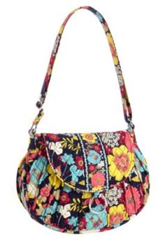 Vera Bradley Saddle Up in Happy Snails. Want this bag!