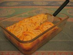 Orange Pinwheel Biscuits