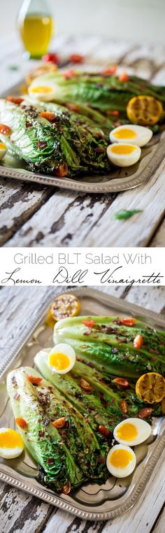 Salad - Grilled/Roasted on Pinterest | Grilled Romaine Salad, Arugula ...