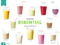 25 smoothie recipes | Whole Living