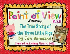 """from Lindsay Flood """"Mrs. Flood's Friends"""" on TPT  **CHECK OUT THE 16 PAGE DOWNLOAD PREVIEW!**Here is a super fun, and engaging mini-unit to introduce, or simply review elements of Point of View..."""