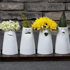 12 Faces Vase Set - Spin Ceramics