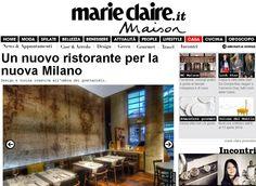 il Santa su @mcmaisonitalia. #ristorante #milano #restaurant #milan #ristoranti