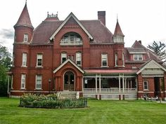 Brantview House was originally owned by William Paddock Fairbanks and his wife, Rebecca Pike Fairbanks. It is a stunning three-story brick structure complete with turrets, gables and a small window's run. It is currently a dormitory for St. Johnsbury Academy. Don Shall