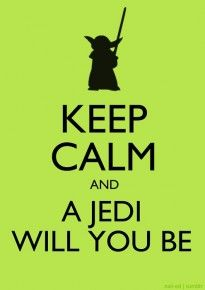 A Jedi will you be :)
