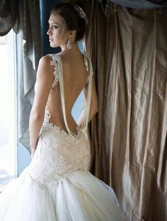 Elle Saab wedding dress