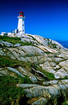 Peggy's Cove Lighthouse, near Halifax, Nova Scotia, Canada | Blaine Harrington