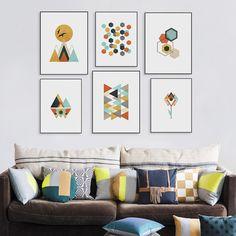 Картинки по запросу постер из геометрических фигур