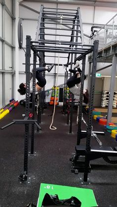 Hanging around - at The Hangar #Cardiff - Jordan and Reanne on our rig