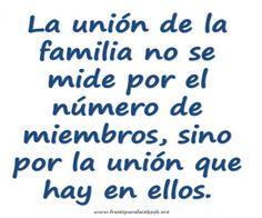 Frases Bonitas: Union Familiar