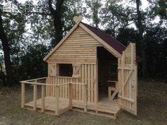 19 Pallet Teenager Cabin Hideaway Fun Pallet Crafts for Kids Pallet Sheds, Pallet Cabins, Pallet Huts & Pallet Playhouses