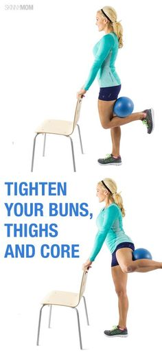 Tighten and tone with this one move! That's what I could do with that ball I've had for years and never used.