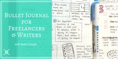 Bullet Journal for Freelancers & Writers with Belle Cooper