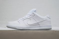 Nike SB Dunk Low Pro White/Light Base Grey