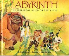 Labyrinth: The Storybook Based on the Movie: Louise Gikow, Bruce McNally: 9780030073243: Amazon.com: Books $18