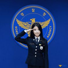 Police Uniforms, Girls Uniforms, Police Officer, Sexy Asian Girls, Beautiful Asian Girls, Iu Twitter, The Rok, Police Outfit, Women Ties