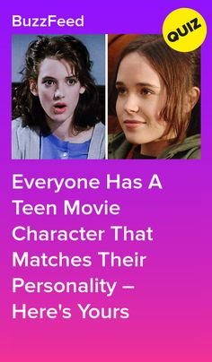 Everyone Has A Teen Movie Character That Matches Their Personality – Here's Yours Buzzfeed Quiz Crush, Buzzfeed Personality Quiz, Personality Quizzes, Quizzes About Boys, Quizzes For Fun, Random Quizzes, Buzzfeed Movies, Quizzes Buzzfeed, Teen Movies