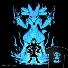 Riolu Pokemon t-shirt design Pokemon Poster, Pokemon Fan Art, Solgaleo Pokemon, Pokemon Cards, Pokemon Stuff, Pokemon Tattoo, Pokemon Images, Pokemon Pictures, Pokemon Soulsilver