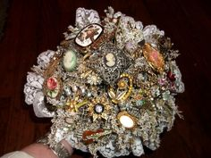 Brooch Bouquet  A Lovie Creation  - Portland - Wedding.com