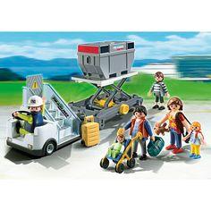 Playmobil City Action, Schody z przyczepą cargo, 5262, klocki