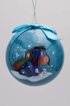 Disney Christmas Ornaments, Hallmark Ornaments, Xmas Ornaments, Christmas Time, Christmas Bulbs, Christmas Decorations, Eeyore, Tigger, Holiday Crafts